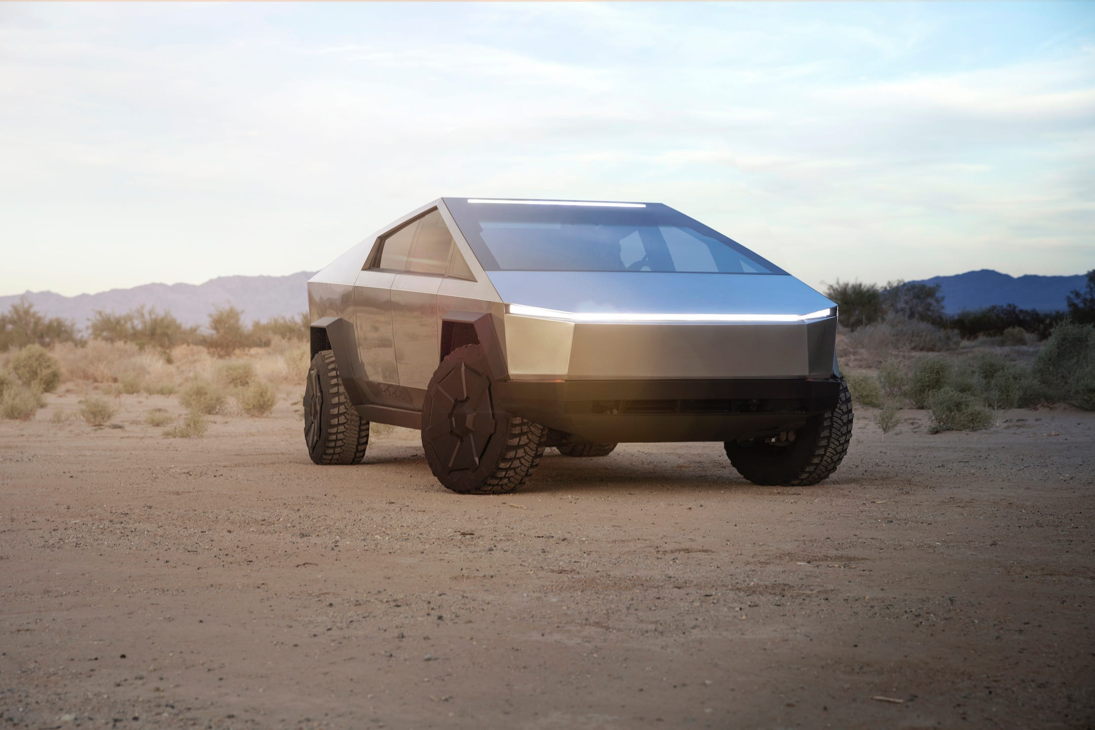 Tesla unveils 'futuristic' Cybertruck