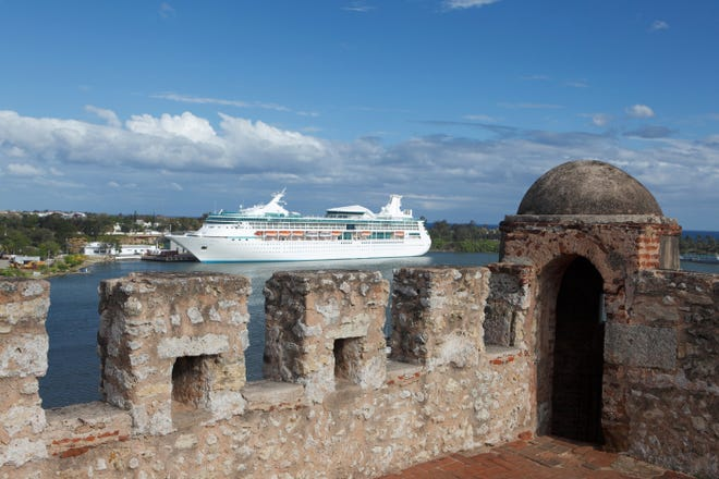 Stirring views can be enjoyed from atop the walls of Santo Domingo's Ozama Fortress, which was built in 1502.
