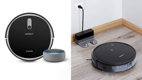 These smart robot vacuums are super popular on Amazon, and now they're at their lowest prices ever.