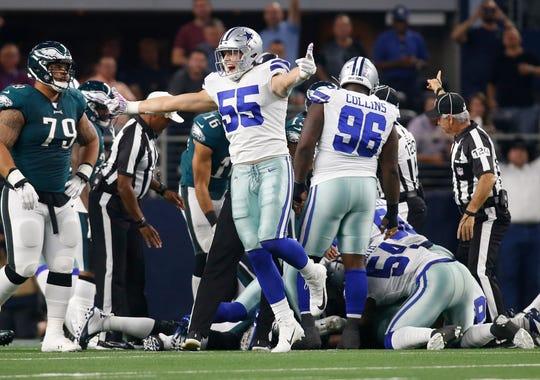 Dallas Cowboys Leighton Vander Esch To Miss New England