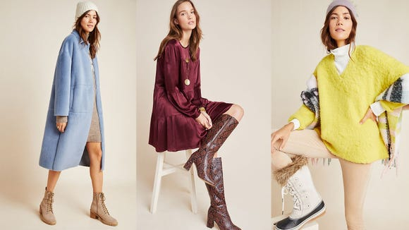 Get half off new styles at Anthropologie.