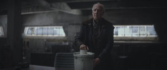 Werner Herzog plays The Client in Chapter 3 of The Mandalorian