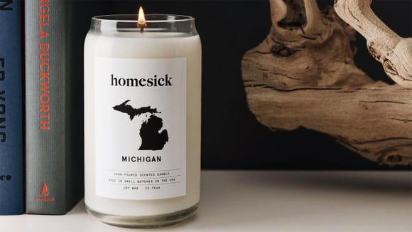 Detroit Free Press / Reviewed 2019 gift guide: Michigan Homesick candle