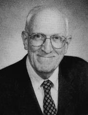 Howard Lloyd in an undated photo from his later years teaching at Matawan High