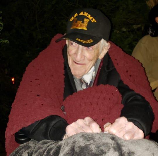 Howard Lloyd on his 100th birthday
