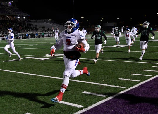 The Cooper Cougars take on unbeaten Denton Ryan at 2 p.m. Friday in Denton in the third round of the state high school football playoffs.
