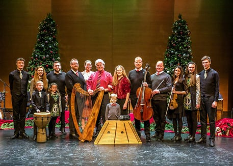 Magical Strings open their 41st annual Celtic Yuletide tour with a Dec. 1 show at Redeemer United Methodist Church in Kingston.