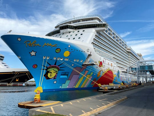 The Norwegian Breakaway arrived at Port Canaveral on Saturday, starting a five-month stretch as a Port Canaveral-based ship.