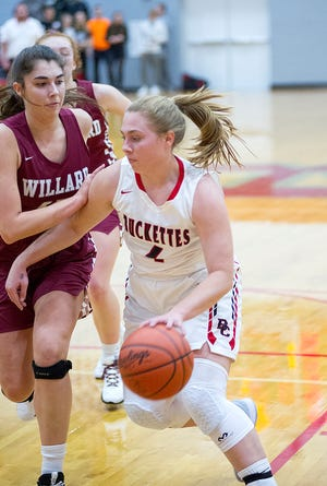 Claudia Pifher's hot hand helped the Buckettes clinch the top spot in the power rankings.