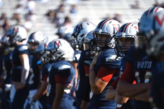 Veterans Memorial faced San Antonio Veterans Memorial in a Class 5A Division I area round game at Buc Stadium in Corpus Christi, Texas on Saturday, Nov. 24, 2019.