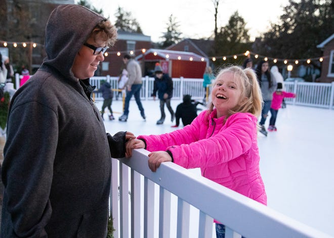Downtown Chillicothe celebrated the start of the holidays with the opening of the downtown ice rink, cookie making, the arrival of Santa Clause, tree lighting in Yoctangee Park, and other fun filled events on Friday, Nov. 22, 2019.