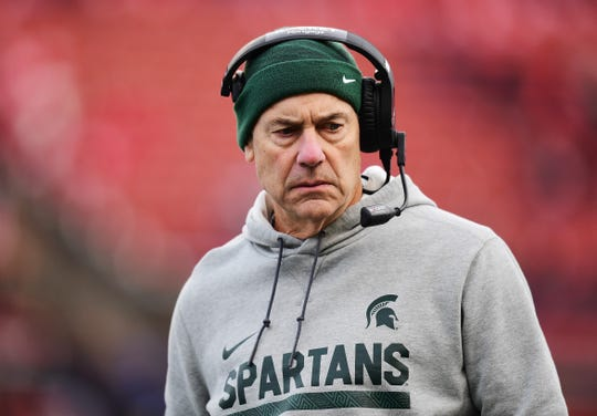 Nov. 23, 2019: Michigan State 27, Rutgers 0, SHI Stadium: Spartans end a five-game losing streak, winning for the first time in nearly two months.