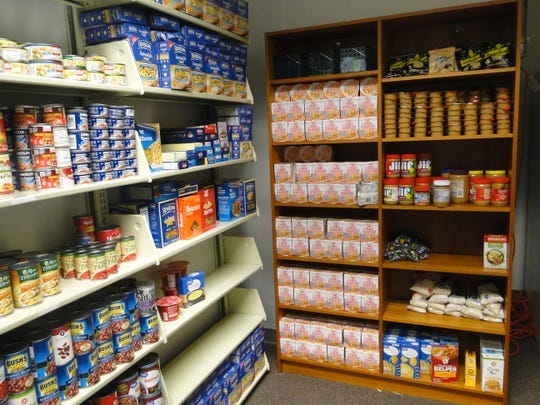 Florida State University's Food for Thought Pantry has been head to head with University of Florida in a competition to acquire the most food donations.