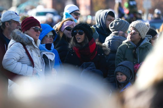At least 1,000 people showed up to watch and enjoy the Prevea Green Bay Holiday Parade on Nov. 23. Community traditions help combat isolation during the winter season.