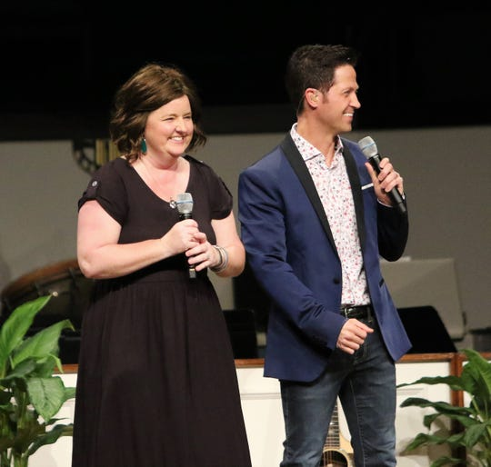 Lori Smith and Wes Hampton of the Gaither Vocal Band grew up singing together in Brownsville