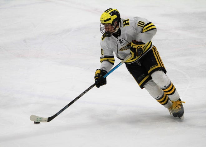 Adam Pietila had two goals and one assist for Hartland in a 4-1 victory over Detroit Country Day.
