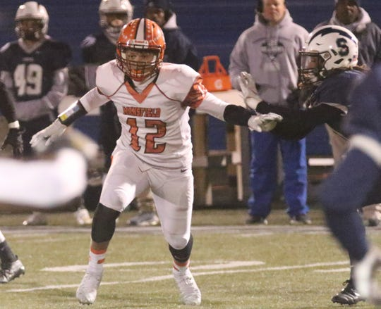 Mansfield Senior's Myles Bradley may be just a sophomore, but he plays like a seasoned veteran for the Tygers.