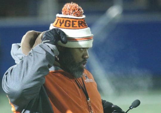 Mansfield Senior coach Chioke Bradley has the love and trust of his players which has led the Tygers to a Final 4.