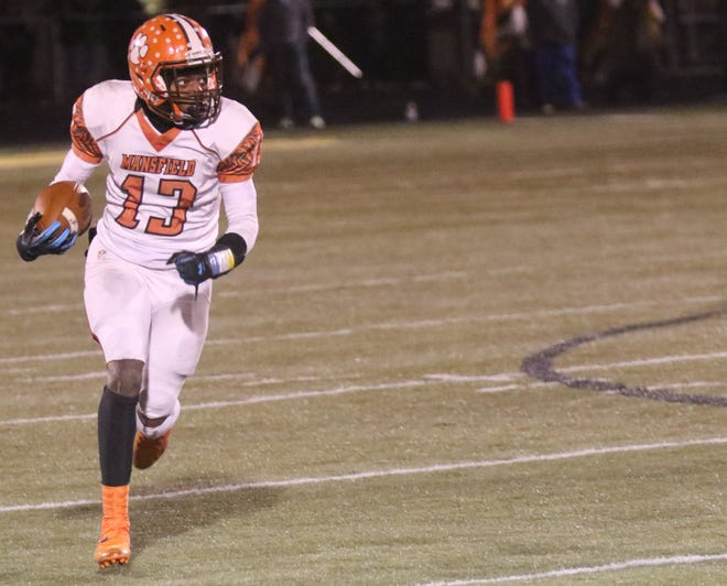 Mansfield Senior's Aveon Grose leads a Tygers team into battle in the Division III State Final 4.