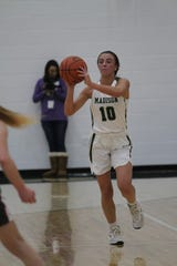 Madison's Leah Boggs had a huge all-around game with seven points, seven rebounds and seven steals in a win over Clear Fork last week.