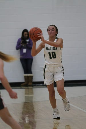 Madison's Leah Boggs scored 23 points, added 11 rebounds, 11 assists, 12 steals and three blocks combined over two Lady Ram victories.