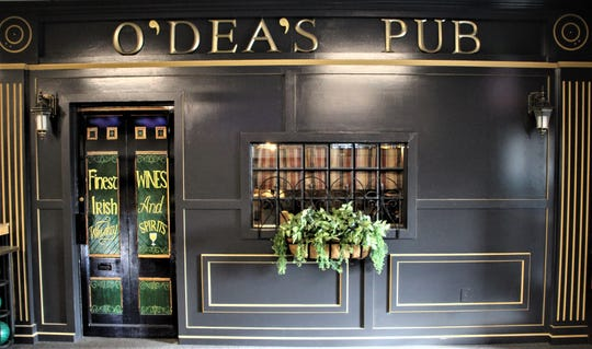 This is the entrance to O'Dea's Pub, which is located inside Cooper's Bowl, 191 Barks Road West, Marion. The pub has become quite popular since it opened in September, co-owner Meg Knickel said.