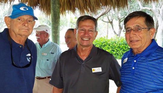 From left, P/C John Nevalus, V/C Todd Whitney and Bob Madaio.