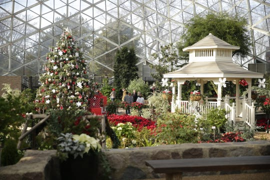 The Holiday Garden Show Dome continues at the Mitchell Park Domes through Jan. 5.