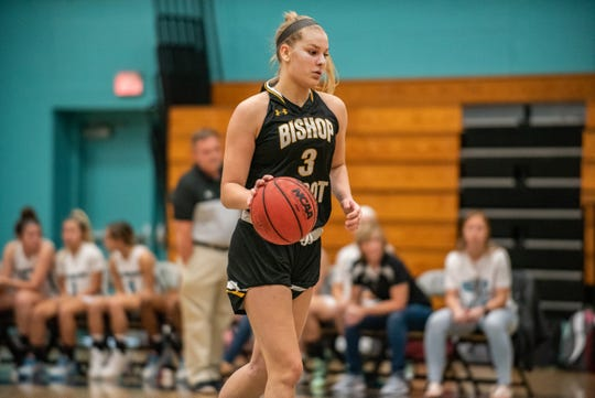 Girls basketball game between Bishop Verot  and Gulf Coast High at Gulf Coast High on Friday, Nov. 22, 2019.