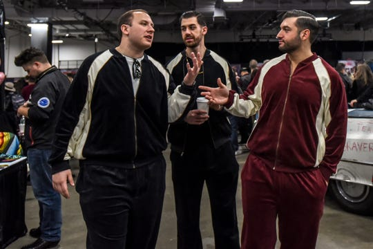 Track suits were out in numbers at the first ever SopranosCon at Meadowlands Expo Center in Secaucus on Saturday November 23, 2019.