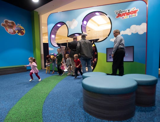 A new 3,000-square-foot Disney Junior Play Zone is open at Cordova Mall.