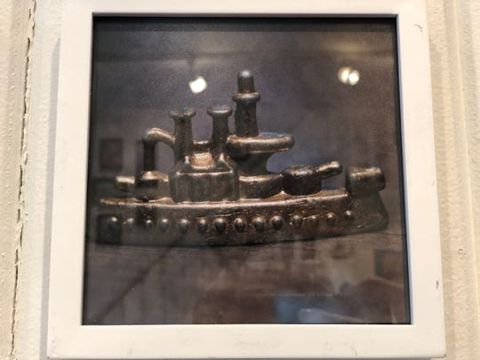 """""""Battleship"""" by Andrew Smith, of Hanover, part of a photography collection in """"The Mini Art Show,"""" on display at HIVE artspace through Nov. 30."""