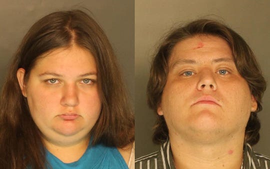 Emily Javins (left) and Jacob Becker (right) have both been charged with corruption of a minor.