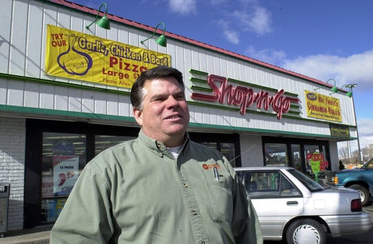 Jim Linscott, shown here in 2004, sold his family's Shop-n-Go property on far South Virginia Street in September 2019. His father opened the store in 1957, and Linscott grew up in a house on the property.