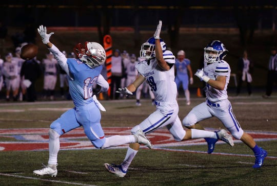 Scenes from Glendale's state quarterfinal loss to Carthage on Nov. 22, 2019.