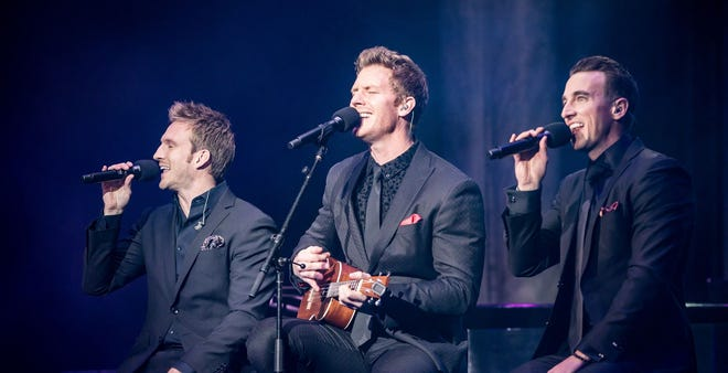 With the power of three dynamic tenors, GENTRI, short for The Gentlemen Trio, captivated 2,000 hearts during a sold out, one-night Tuacahn performance earlier this month..