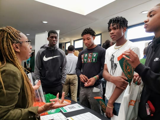 Students from Hillsborough County high schools learn more about Florida A&M University