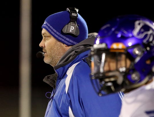 City View head football coach Rudy Hawkins led the Mustangs to the program's first ever playoff win.