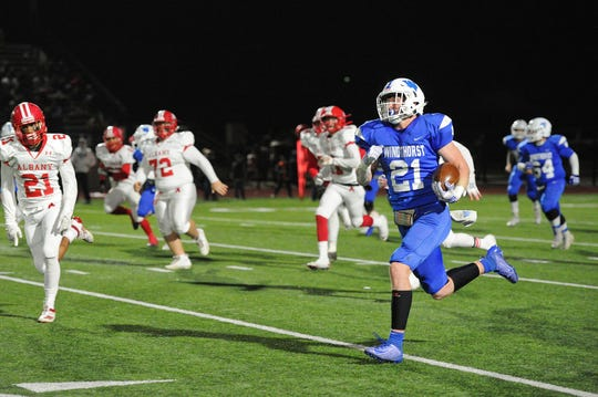 Awtry Blagg did a little bit of everything for the Windthorst Trojans this season, earning him the Red River 22 Small-School team Defensive Player of the Year award.
