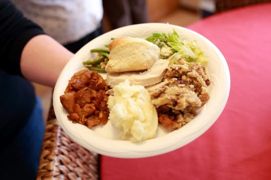 There's plenty of homemade bounty to fill many plates for those gathering in the Manzke home around Thanksgiving time.