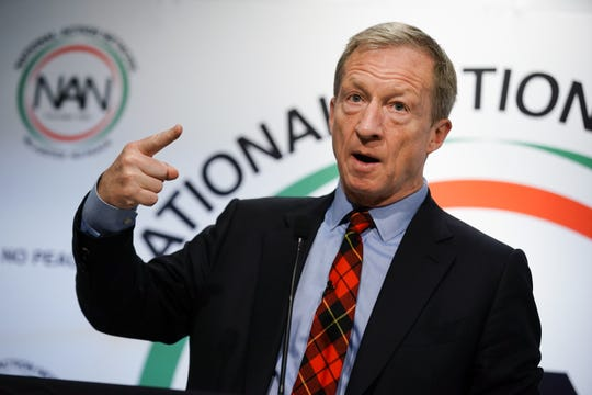 Tom Steyer in Atlanta on Nov. 21, 2019.