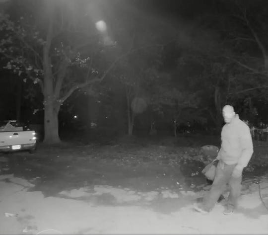 New Jersey State Police are  looking for this man, suspected in multiple car burglaries Saturday morning in Millstone and Upper Freehold