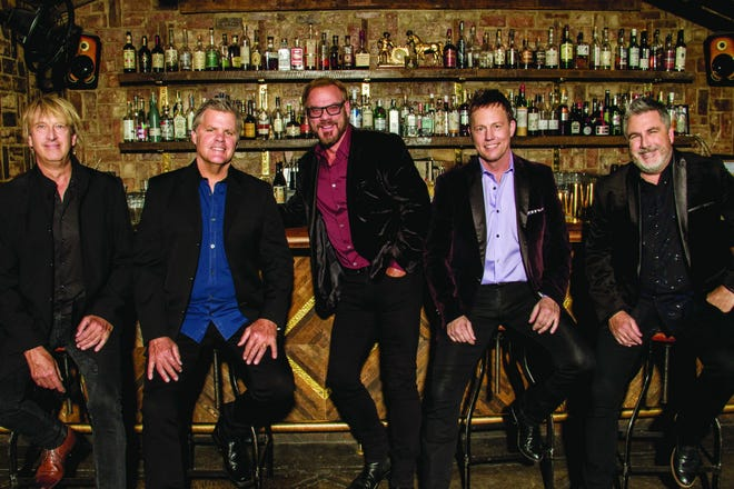 Phil Vassar (middle) and Lonestar play Christmas standards and country hits Dec. 5 at the Admiral.