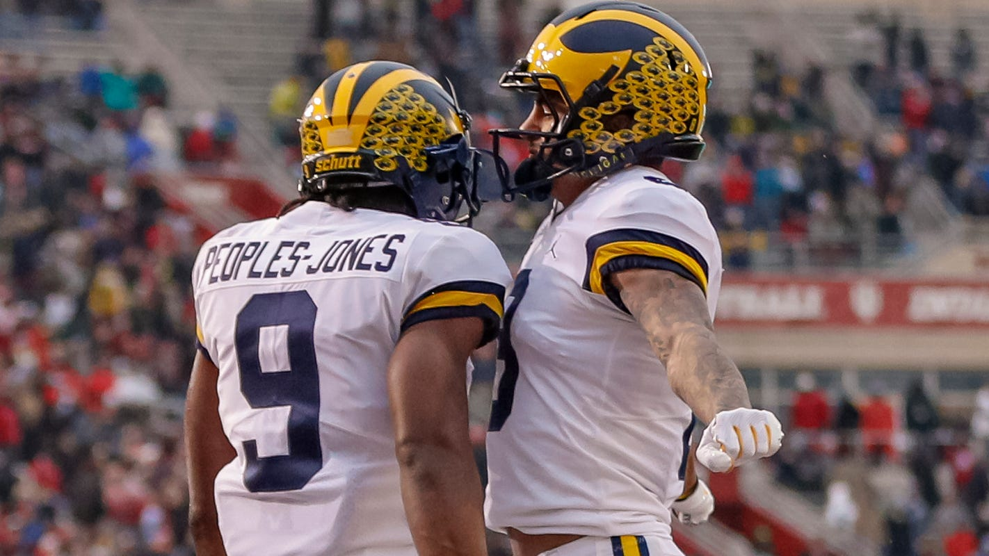 Michigan football blows by Indiana, now gets undefeated ...