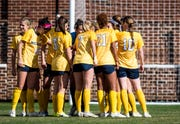 No. 19 University of Michigan women's soccer team readies to take on No. 2 North Carolina on Sunday.