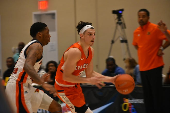Art Labinowicz made his second start on Sunday morning against Morgan State in the Bahamas.