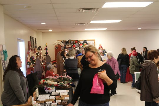 The Clyde community has been celebrating the Winesburg Christmas Weekend, now in its 43rd year, since 1976 with all kinds of various holiday-themed shows, activities and sales happening all around town over the three-day event.