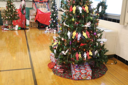 The St. Paul Lutheran Church congregation decorated a tree of their own that stood out with silhouettes joined hand-in-hand. Sieger said the theme for their tree came from the lyrics of a popular classic children's sing-along.