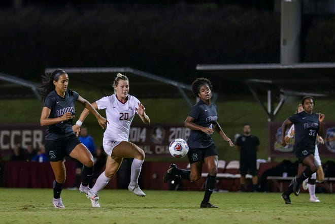Kristen McFarland has scored every goal through the first two rounds of the NCAA Tournament.
