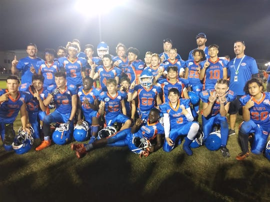 With a victory Saturday, the Cape Junior Tornadoes will head for the ESPN Wide World of Sports Complex for the Pop Warner national finals starting Dec. 4.
